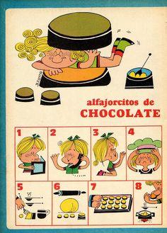 ¡Cuántas veces habrás querido      hallar una buena receta de alfajorcitos de chocolate! Pero no de esos que      llevan choc...