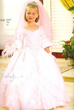 Flowergirl/Pageant Dresses 806 Sweetheart Lace!