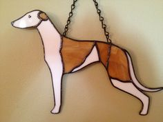 Greyhound Stained Glass