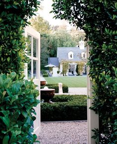 Beautiful entry into this garden!