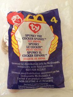 Mcdonalds Happy Meal Toy Teenie Beanie Boo Beanie Babies