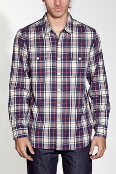Awesome, thick flannel from Obey