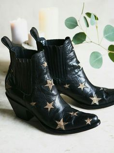 finest selection 9e3c6 64d6f Mexicana Black Reach For The Stars Ankle Boot at Free People Clothing  Boutique