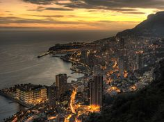 Montecarlo, Monaco... I remember absailing down a cliff that overlooked the whole city and this is exactly the image I have in my mind.