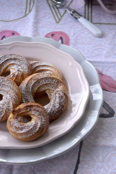 Lavanda Cakes: French Crullers (al horno).