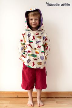 free hooded sweatshirt pattern | the crafty kitty
