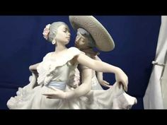 Lladro Mexican Dancers, # 5415 1987 Retired 2005 - YouTube #ReliablePawnShop #ReliablePawnStars #SimiValley
