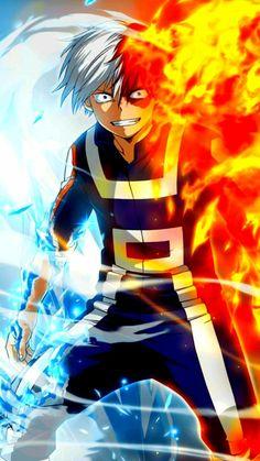 Todoroki Shoto // Boku No Hero Academia // Tododeku // Todobaku // BNHA // My Hero Academia // MHA // Todomomo // WALPPAPERS