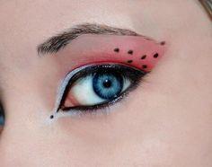 Resultado de imagem para ladybug #makeup#kids#children#fantasy#colors#painted face#marieta#acuarelas#maquillaje infantil#