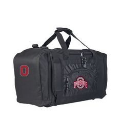 fbb515d281 The Northwest Company Ohio State Buckeyes Black Roadblock Duffel Bag Duffel  Bag