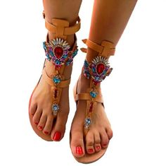 Leathersandals excellent #leathersandals #handmade #embellishmedsandals Leather Sandals, Handmade, Shoes, Fashion, Moda, Hand Made, Zapatos, Shoes Outlet, Fashion Styles