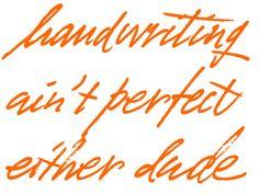 Mr Porter - Hand Drawn type