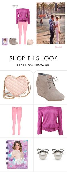 """""""Violetta"""" by dulmucsek ❤ liked on Polyvore featuring Ultimo, Rebecca Minkoff, TOMS, Boohoo, Cecilia Pradomurion and Disney"""