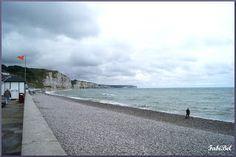 Normandie fecamp plage