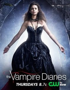 """""""On Thursday, October 10, 2013 (8:00-9:00 p.m. ET), #TheCW's number one series, #TheVampireDiaries, returns for another season of highly addictive #drama."""""""
