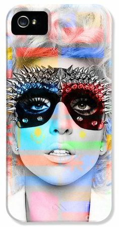 Lady Gaga iPhone 5 Case / iPhone 5 Cover for Sale by Marvin Blaine
