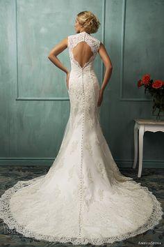 amelia sposa bridal 2014 loretta wedding dress keyhole back