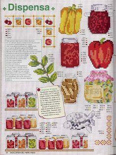 Enciclopédia Italiana Frutas e verduras
