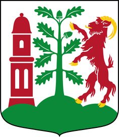 Coat of arms of the municipality of Varberg, Sweden