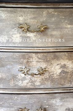 Ideas painting techniques furniture shabby chic tutorials for 2019 chic furniture living room shabby chic furniture chic furniture ideas chic furniture painting Distressed Furniture, Shabby Chic Furniture, Bedroom Furniture, Antique Furniture, Bedroom Dressers, Distressed Wood, French Furniture, Leather Furniture, White Furniture