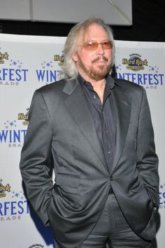 Barry Gibb ~ unfortunately the only brother left of The BeeGee's