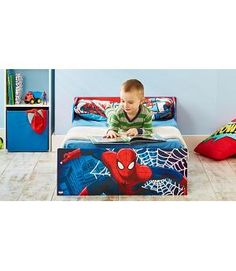 Make The Move From Cot To A Big Bed Easy With This Spiderman Toddler On Imagination But Pocket Will Have Your