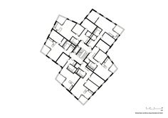 a f a s i a: Meier Hug Architekten Concept Models Architecture, Architecture Graphics, Urban Architecture, Architecture Drawings, Residential Architecture, Macro And Micro, Apartment Plans, Room Planning, Planer