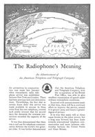 AT & T Radiophone 1927 Ad Picture