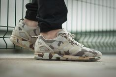 "adidas ZX Flux Camo ""Brown"""