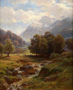 Alpine Landscape Paul Weber