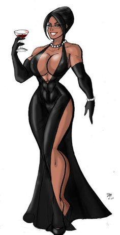 Gothic girl in bikini