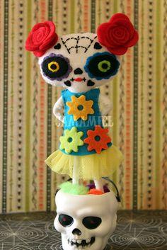 Ana Camamiel horror vacui: 09.2012 Lots of adorable felties. No tutorials.