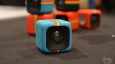 Polaroid unveils an adorable, tiny cube camera for action shots theverge.com