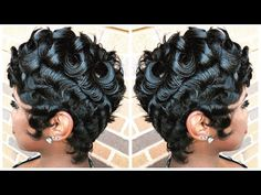 Read more about black hairstyles for natural hair Short 27 Piece Hairstyles, Quick Weave Hairstyles, Curled Hairstyles, Vintage Hairstyles, Diy Hairstyles, Wedding Hairstyles, Updo Hairstyle, Black Hairstyles, Hairstyle Ideas
