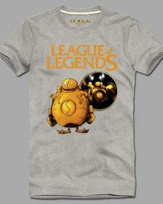 League of Legends best tshirt for men XXXL Blitzcrank short sleeve-