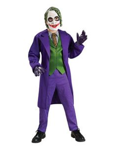 Joker Deluxe Child Small Kids Boys Costume ** Details can be found by clicking on the image.