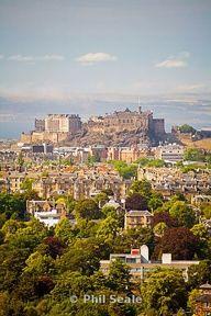 I'll be there in five days - Edinburgh Castle, Scotland