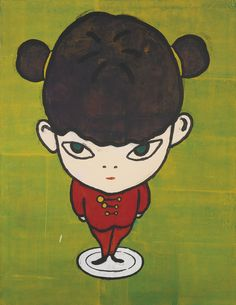Yoshitomo NARA (Japanese, b. 1959) Chinese Girl on the Dish