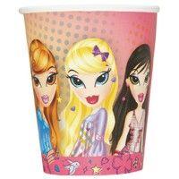 Bratz Paper Cups from www.HardToFindPartySupplies.com