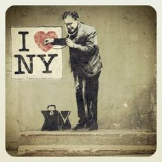 NYC. Street art // Instagram Round Up: The Best Of NYC Street Art