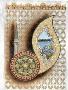 1 Islamic Patterns, Line Patterns, Persian Motifs, Arabic Art, Visionary Art, Islamic Calligraphy, Arabesque, Islamic Art, Decoupage