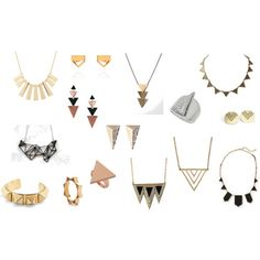 On the blog, Geometric Jewelry