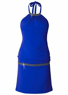 La robe matière T-shirt, BODYFLIRT, bleu roi 30€