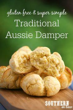 Gluten Free Damper Recipe - gluten free, egg free, clean eating friendly, Healthy Australian Recipes