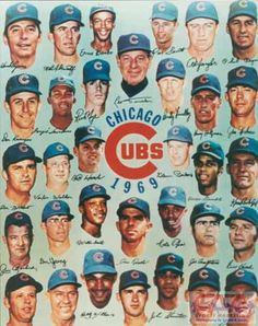 1969 Cubs Banks Jenkins Santo Williams
