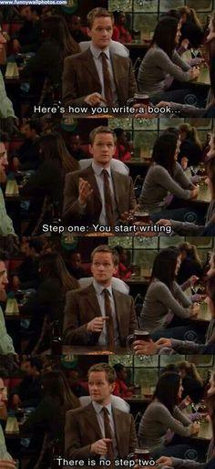 Barney knows.
