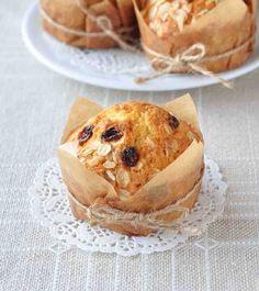 Eggless Breakfast Oatmeal Raisin Muffin Recipe
