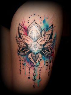#mandala #lotus #tattoo