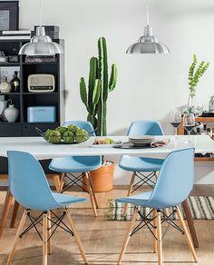 Confira cozinhas modulares e mesas de jantar vintage da Tok&Stok. A proposta…