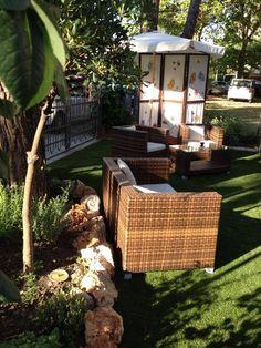 Il giardino con le tele di Pascucci!